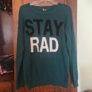 UOxSparkle and Fade Stay Rad Sweater